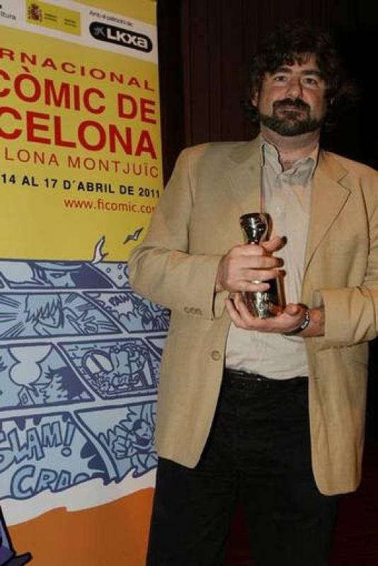 """Juanjo Guarnido. Mejor dibujante por 'Blacksad 4. El infierno, el silencio"""""""