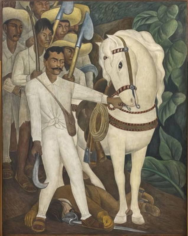 CINCO PROVOCADORES MURALES PORTÁTILES DEL MEXICANO DIEGO RIVERA EN EL MOMA