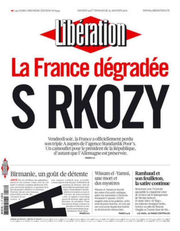 "Francia degradada ""S RKOZY"""
