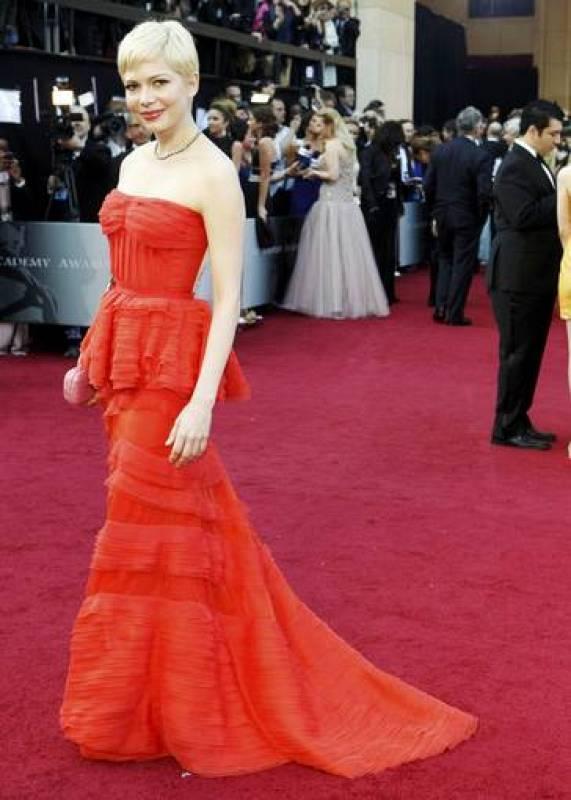 Michelle Williams, en los Oscar 2012