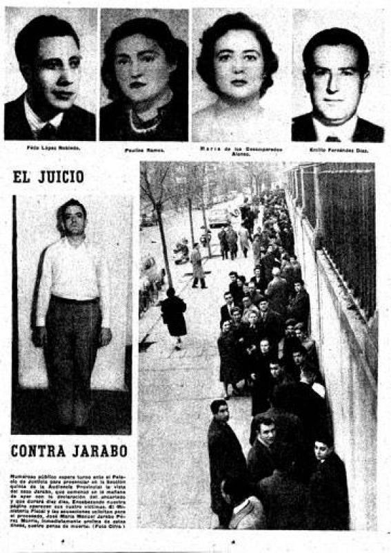 La huella del crimen - Jarabo - El caso en la prensa