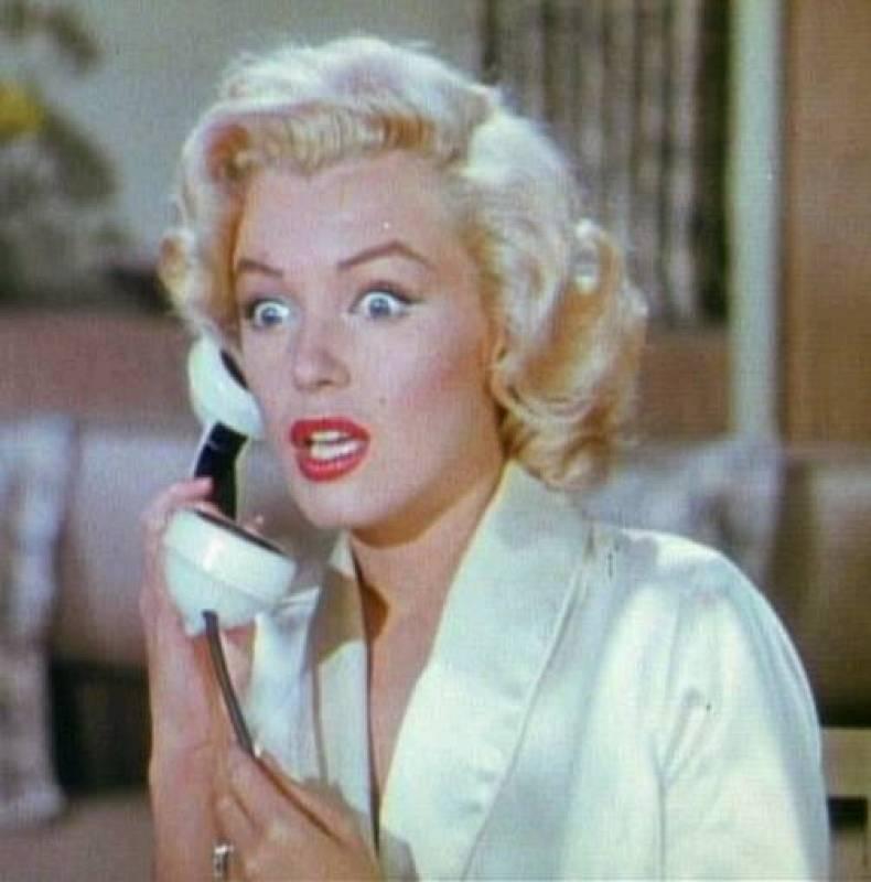 Fotograma de Marilyn Monroe en el filme 'Los caballeros las prefieren rubias', 1953.