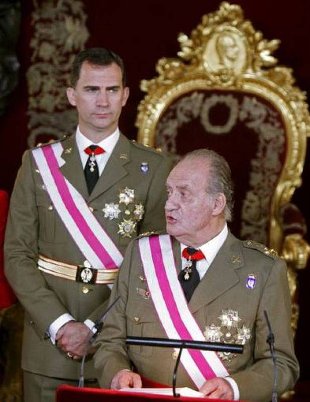 Príncipe Felipe, rey, pascua militar