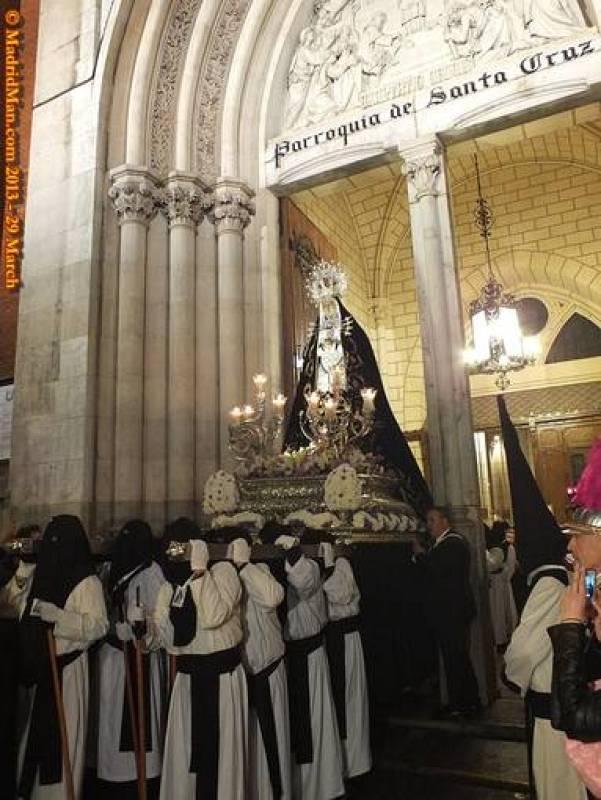 Madrid: María de los Siete Dolores por la Puerta