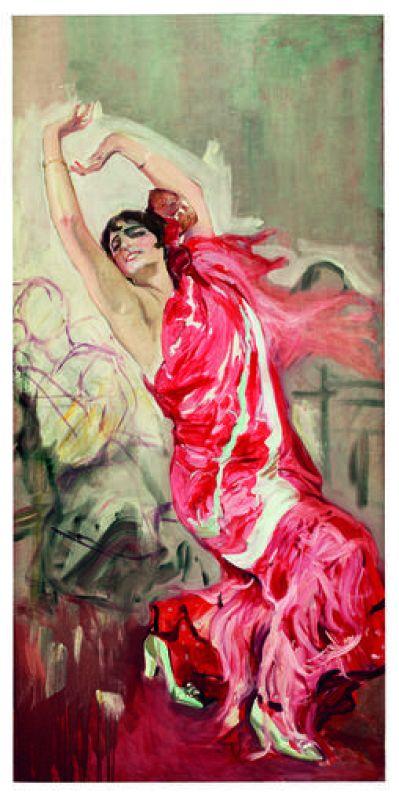 'Bailaora flamenca', de Sorolla