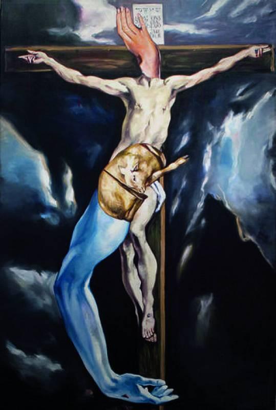 De la serie El Greco revisitado en Borox, 2006 © Jorge Galindo