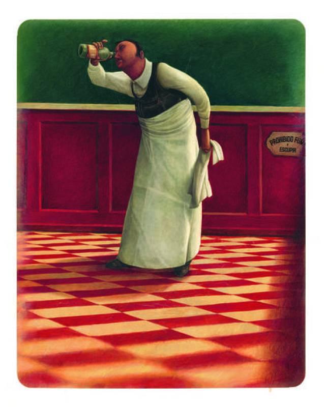 Ilustración de Rébecca Dautremer para el libro 'Seda'