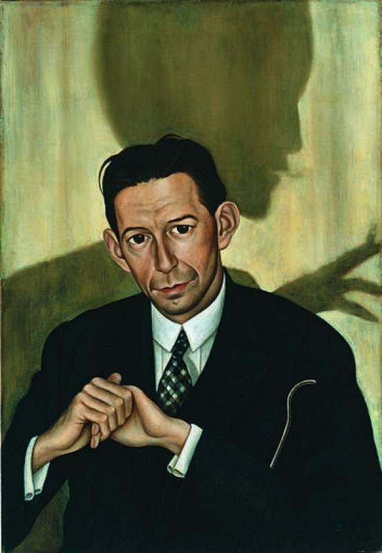 """Christian Schad """"Retrato del Dr. Haustein"""" (1928)"""
