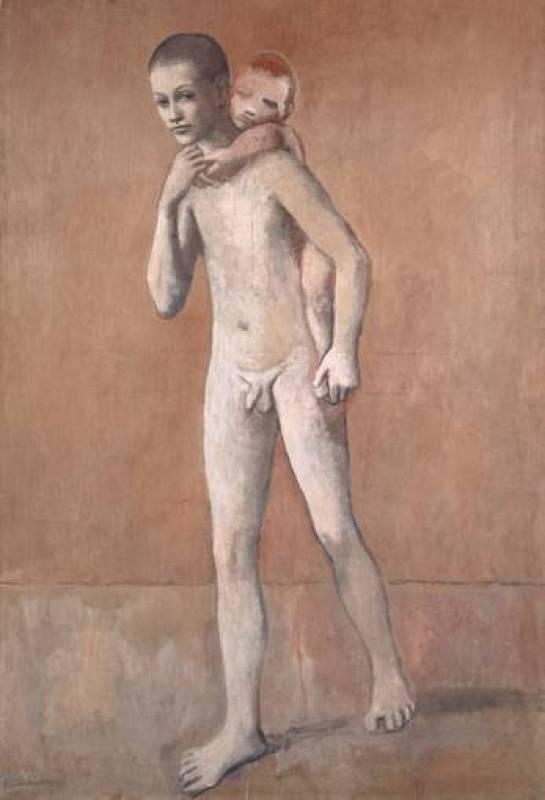 'Los dos hermanos' (1906) Pablo Picasso. Kunstmuseum Basel.