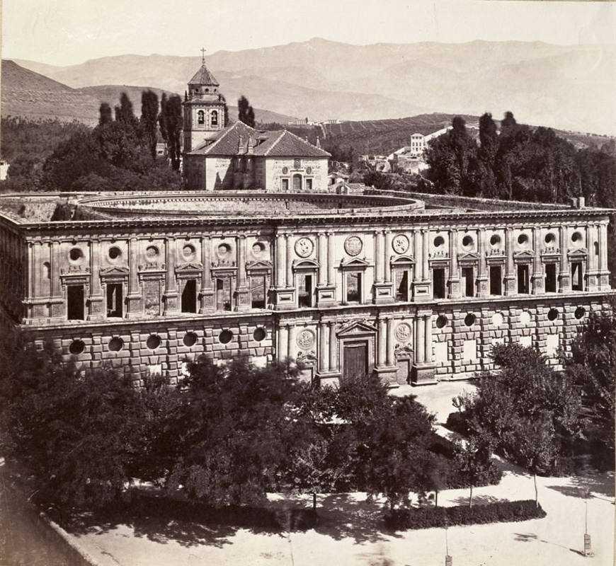 Palacio de Carlos V en Granada /BNE