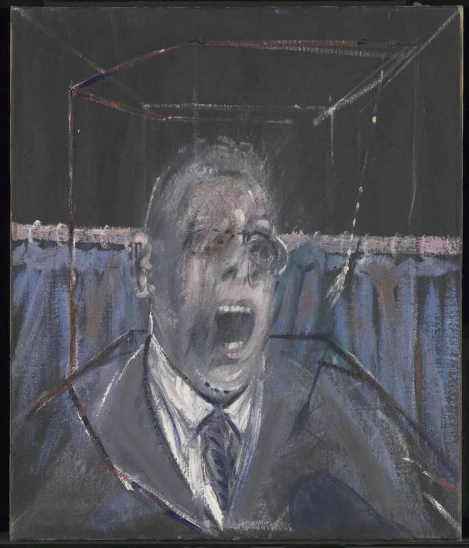 Imagen de la obra 'Study for a Portrait' (1952) de Francis Bacon