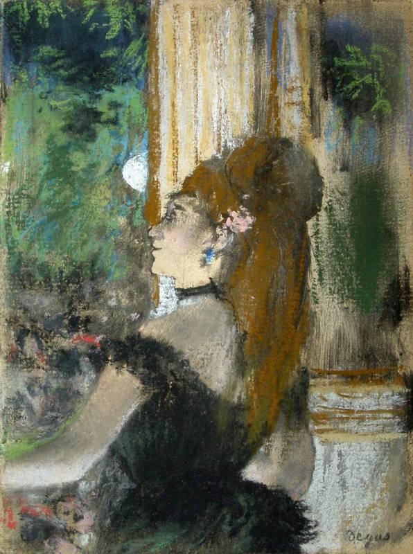 'The singer' (1878-1880).