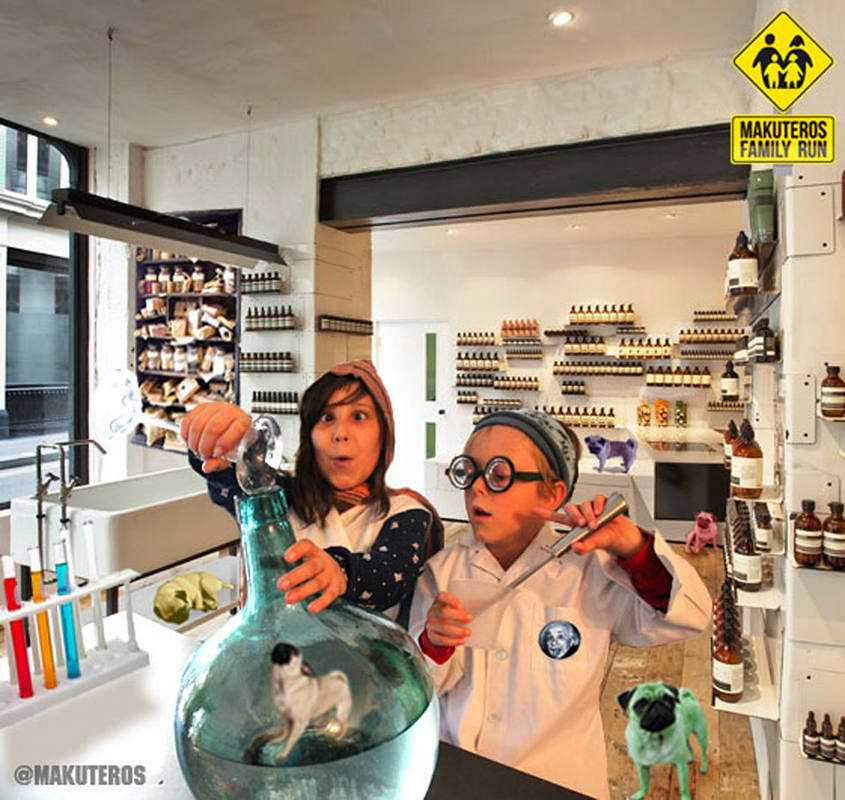 A Candela y Mateo les encanta hacer experimentos