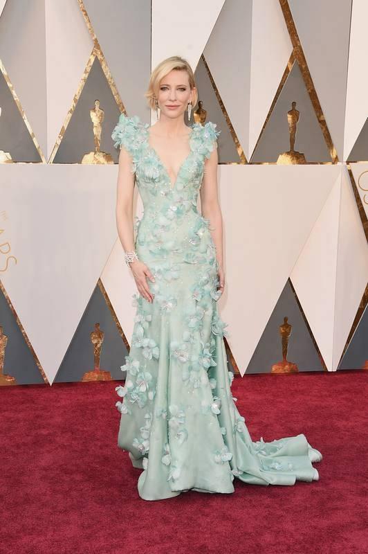 La elegancia de Cate Blanchett sobre la alfombra roja. La actriz está maravillosa en 'Carol'.