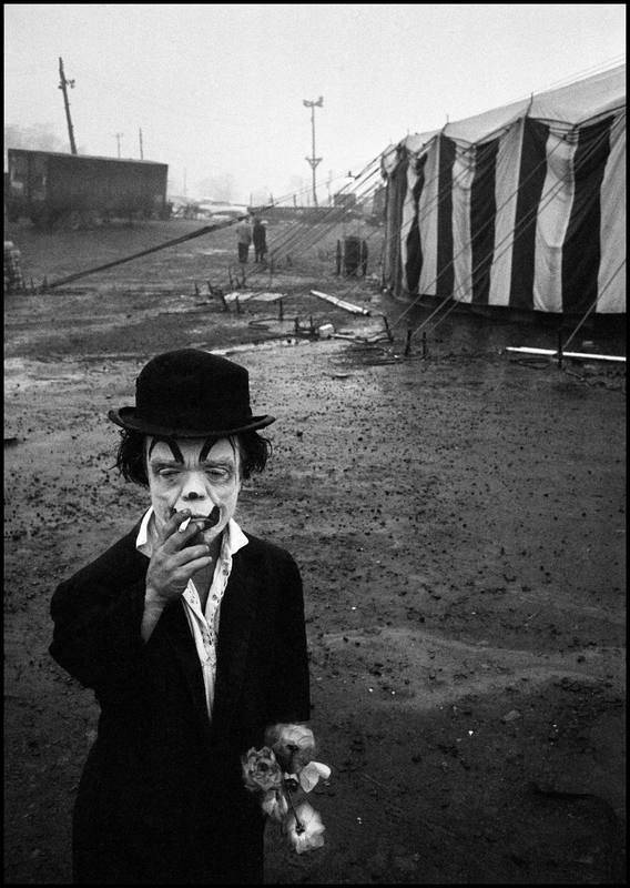USA. Palisades, New Jersey. 1958. The Dwarf.