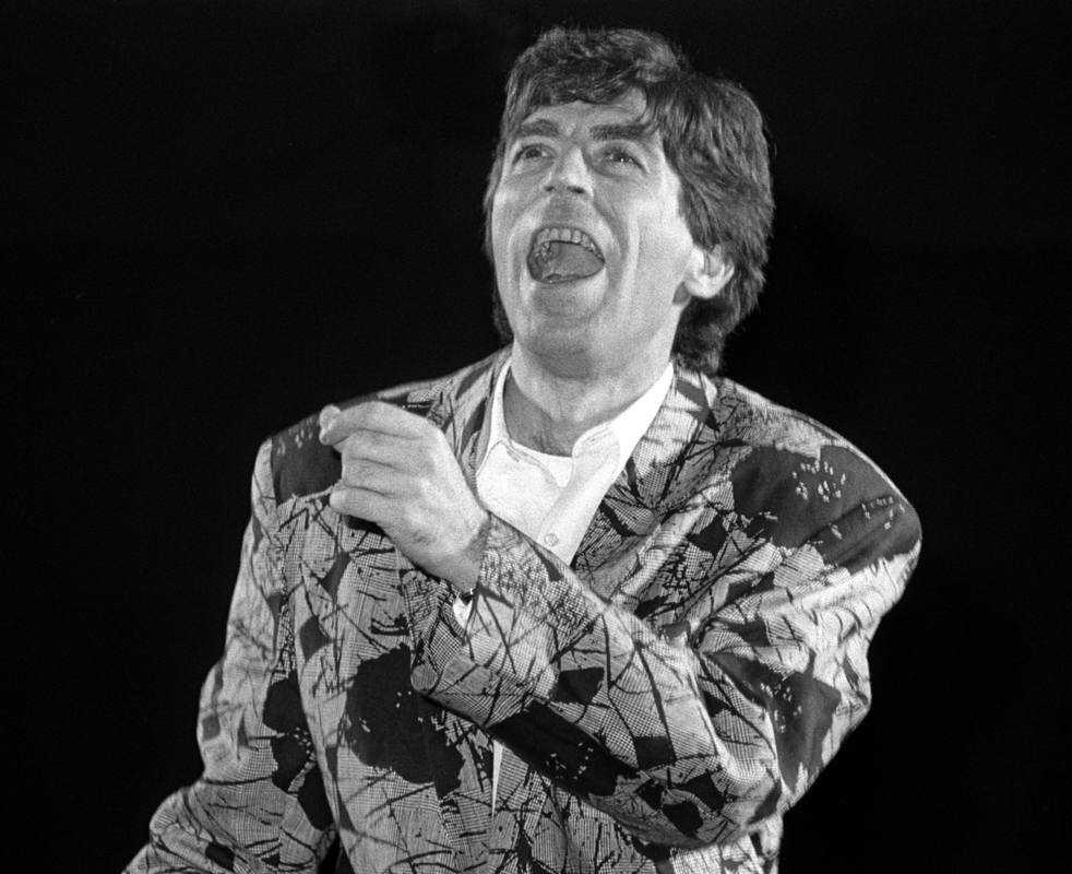 Joaquín Sabina actúa en el Palacio de los Deportes de Madrid