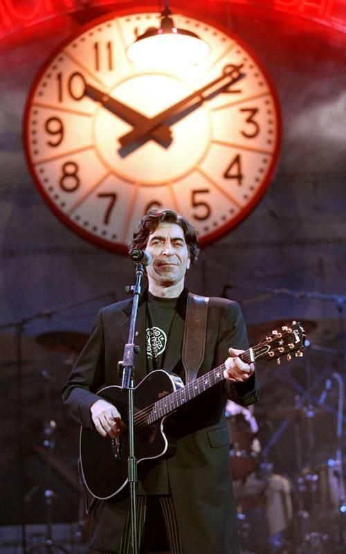 Joaquín Sabina, en concierto
