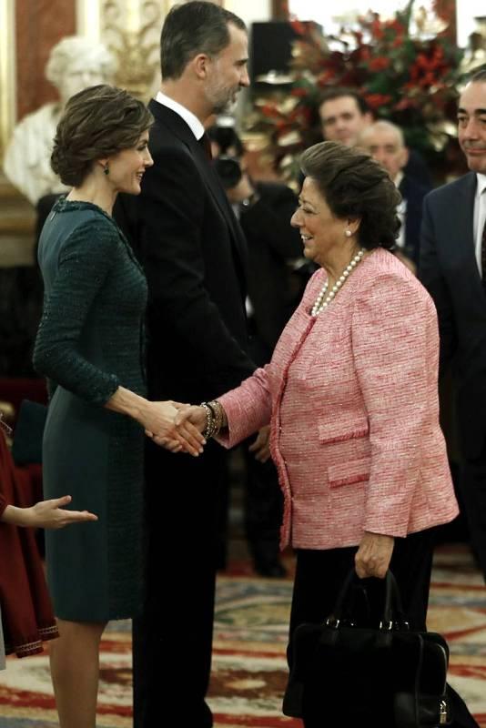 Rita Barberá en la ceremonia de apertura de las Cortes en la XII Legislatura la semana pasada