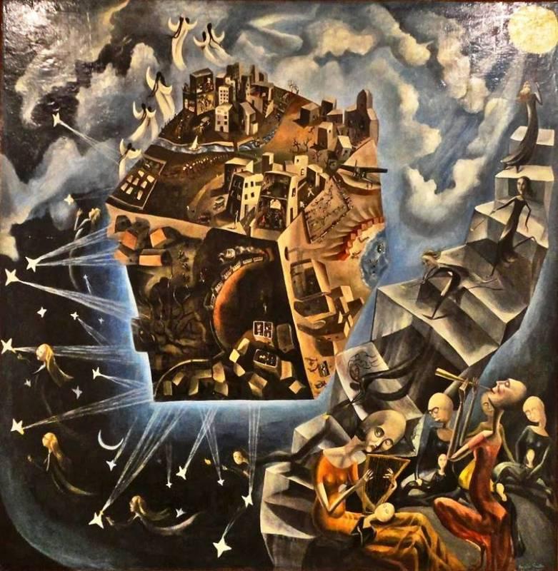 """""""El mundo"""", el cuadro más emblemàtico de la artista Ángeles Santos, está en el Museo Nacional Reina Sofía"""