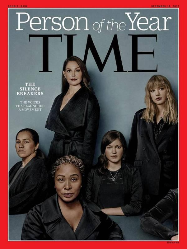 Los integrantes del movimiento que en los últimos meses han lanzado una intensa campaña contra los abusos sexuales fueron elegidos este año como Personas del Año de la revista estadounidense Time. La publicación ha elegido al movimiento #MeToo y sus
