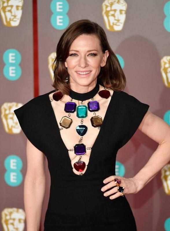 La actriz Cate Blanchett posa en la alfombra roja