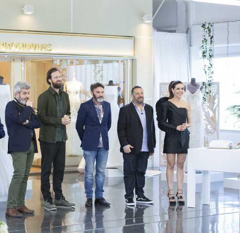 Lorenzo Caprile, Edu Soto, Fernando Tejero, Pepón Nieto y Raquel Sánchez Silva