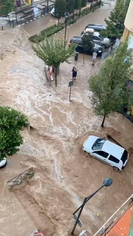 Arganda evalúa los daños tras las fuertes lluvias