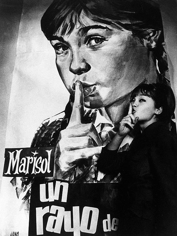 'Un rayo de luz' (1960) supuso el nacimiento de Marisol como mito cinematográfico.