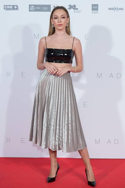 Ester Expósito en la première de 'Madre' (Noviembre de 2019)