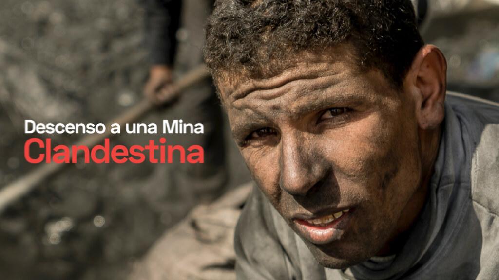 Descubre cómo es la vida de los mineros furtivos de Yerada, en Marruecos