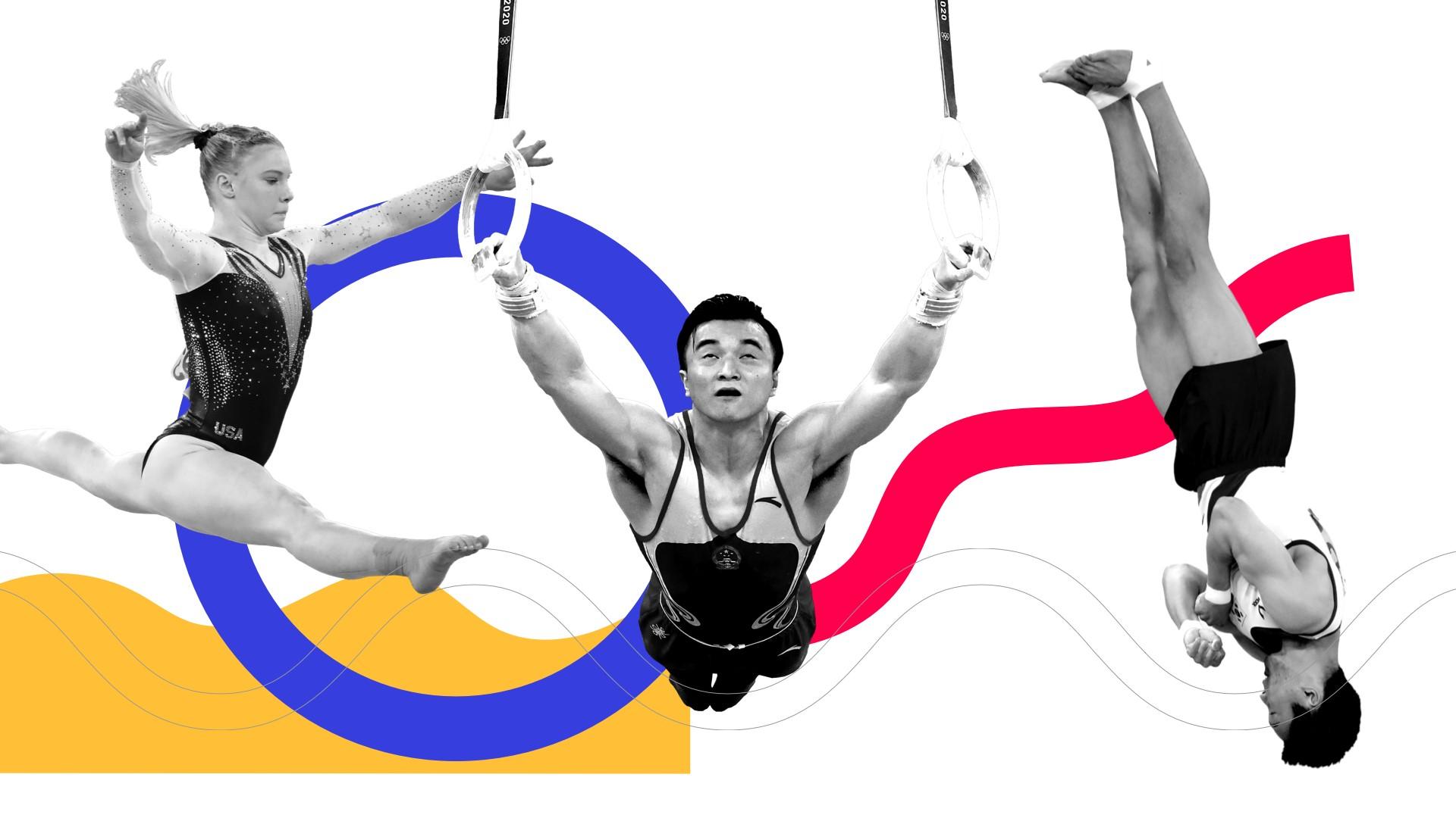 El arte de la gimnasia en cuatro ejercicios