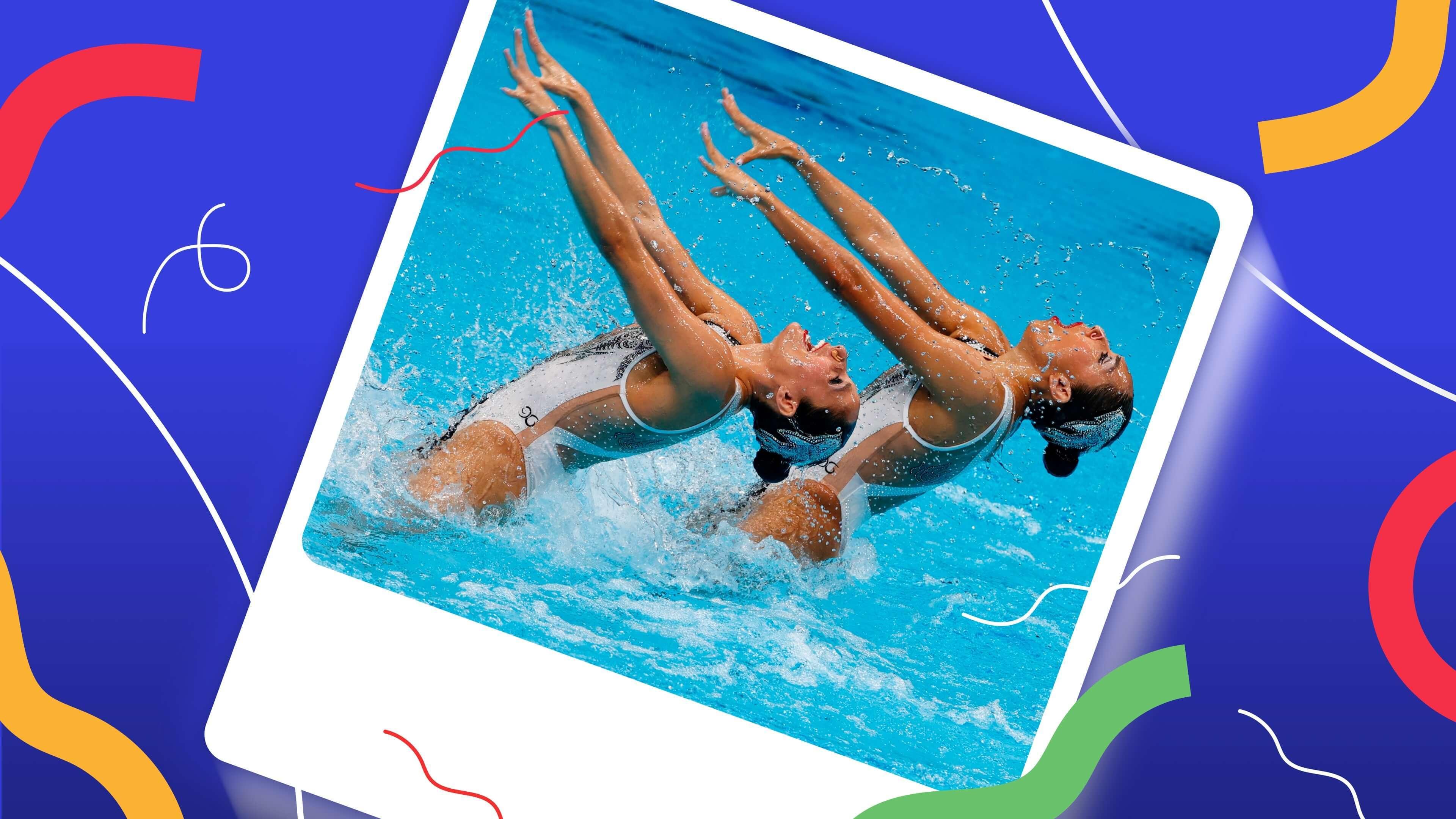 ¿Cuál es el mejor bañador de los dúos de natación artística?