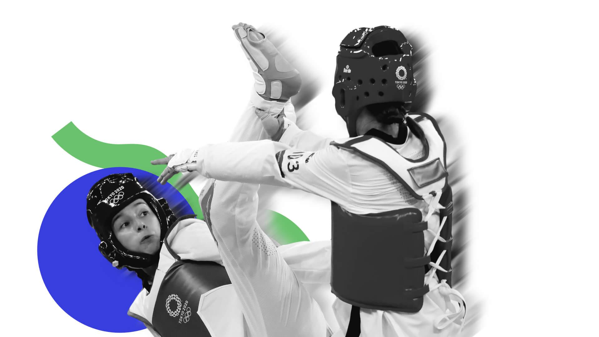 Adriana Cerezo, plata en taekwondo