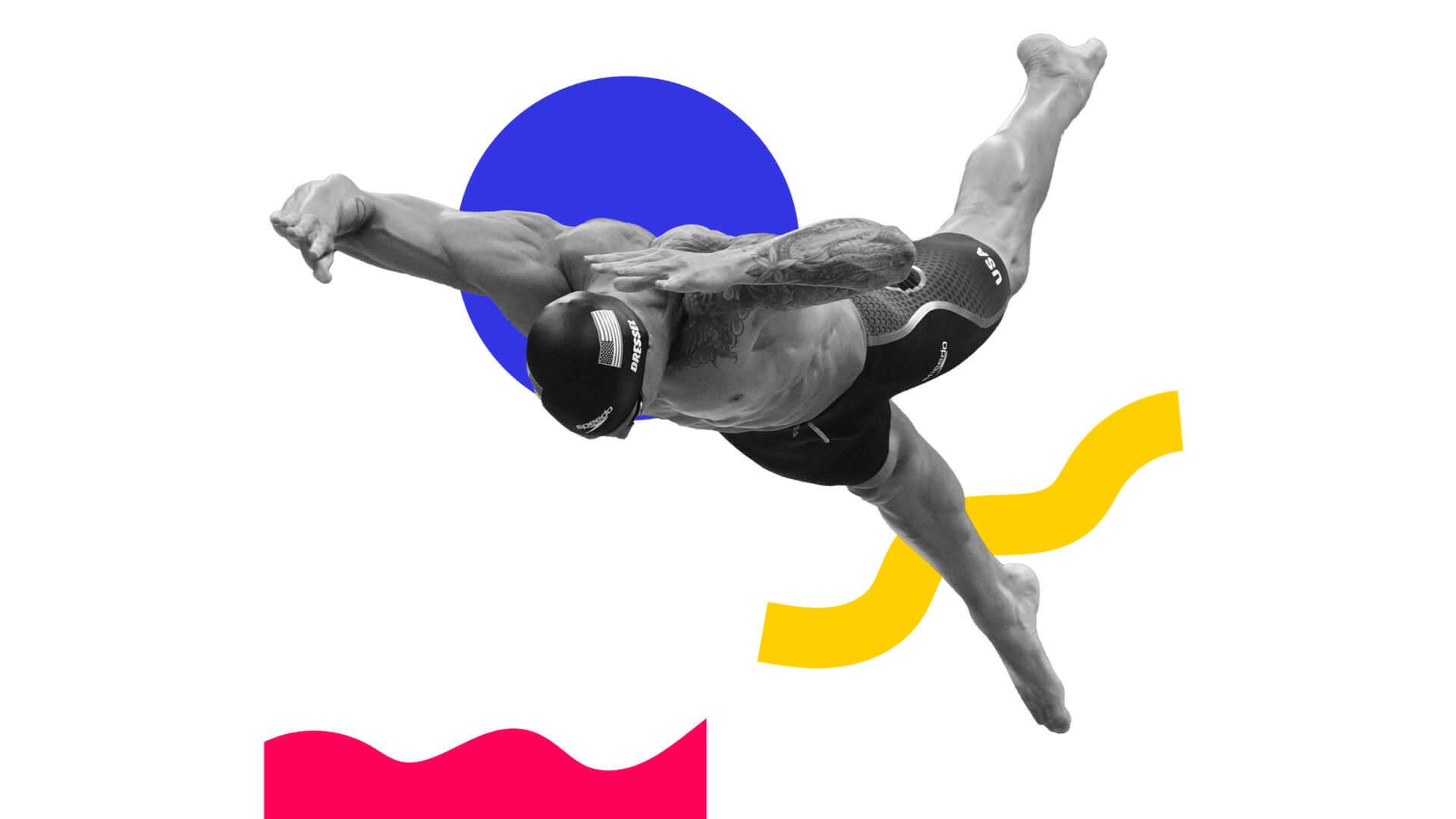 Fin de fiesta de Caeleb Dressel: cinco oros en Tokyo 2020