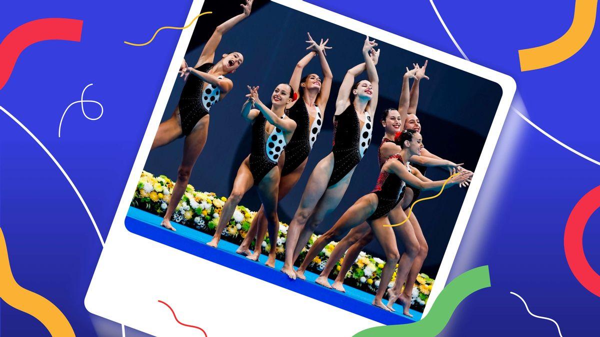 El mejor bañador de natación artística por equipos