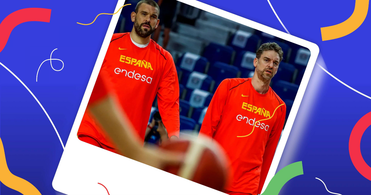 La mejor selección de baloncesto español