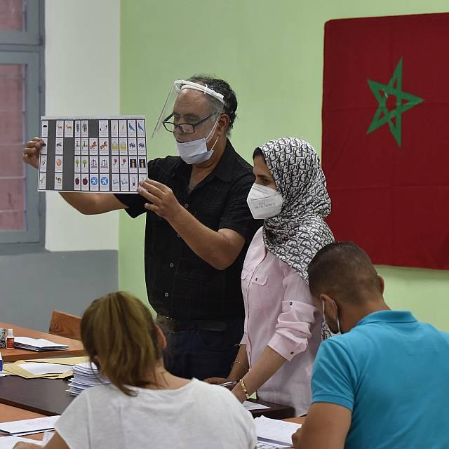 Resultados de las elecciones en Marruecos