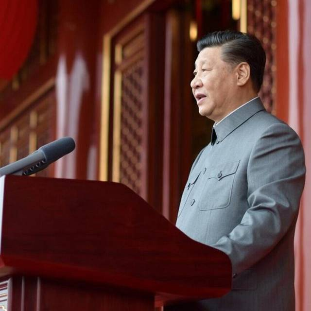 El intimidante discurso del presidente Xi Jinping