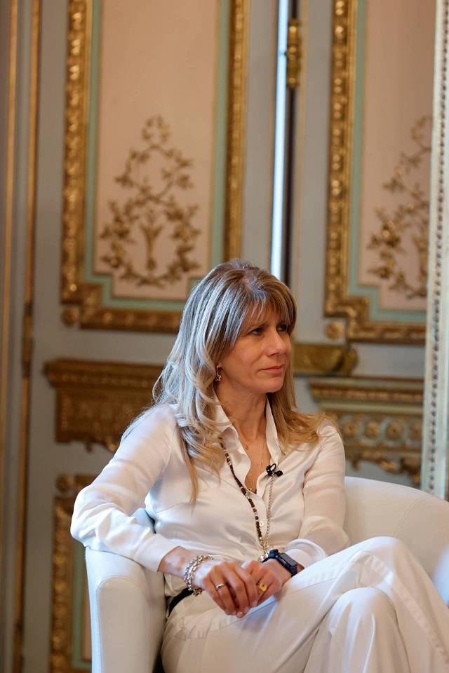Ximena Rincón, presidenta del Senado de Chile