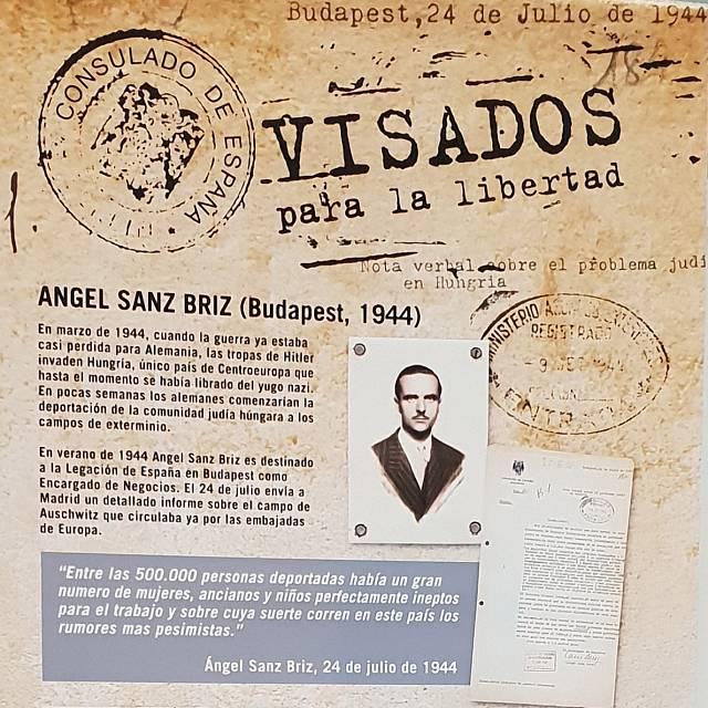 Ángel Sanz Briz: Búsqueda de personas salvadas