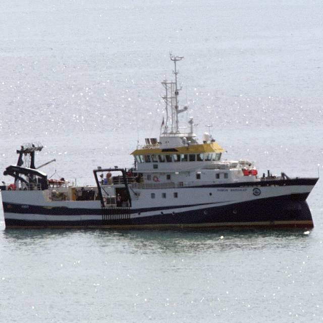 El buque Ramón Margalef se encuentra ya en La Palma
