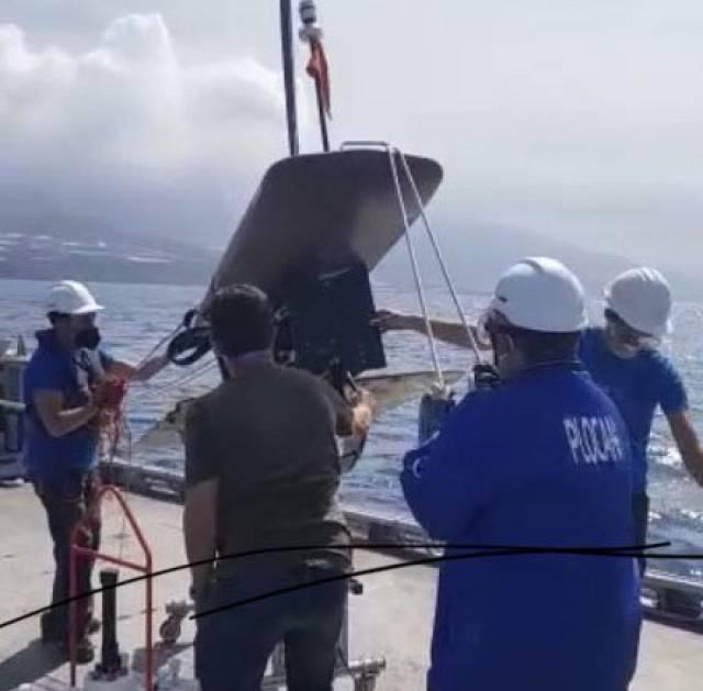 Plocan despliega, en La Palma, un vehículo no tripulado