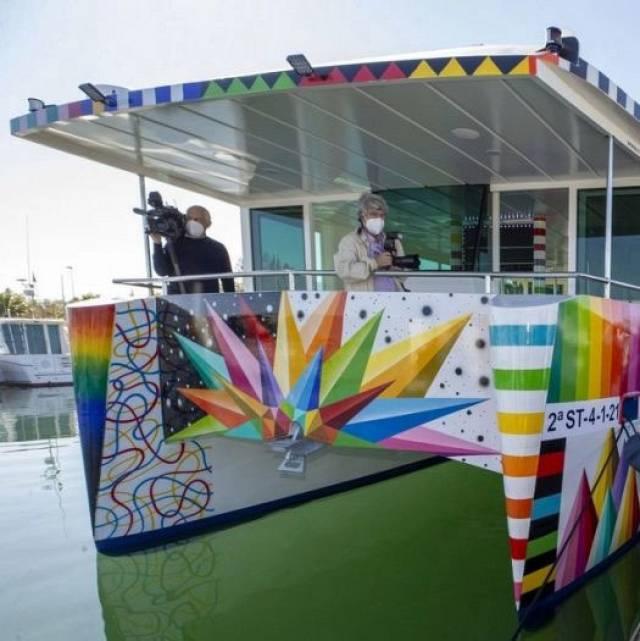 Cantabria fabrica el primer catamarán electrosolar del mundo