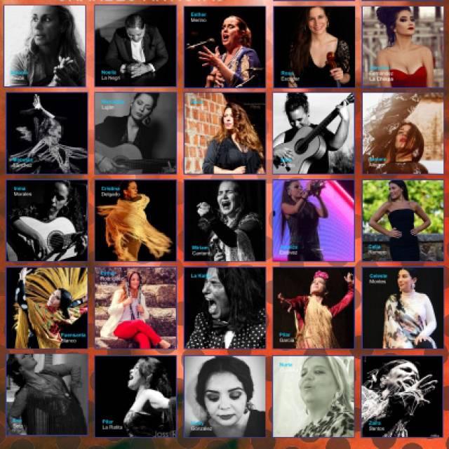 Salomé Pavón y sus flamencas por Afganistán