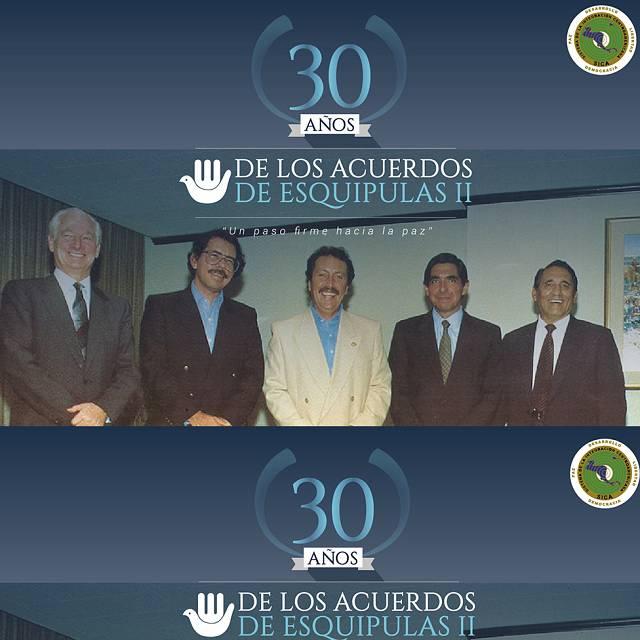 Aniversario Acuerdos de Paz de Esquipulas