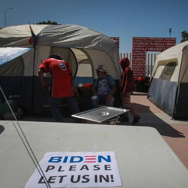 Migrantes en la frontera Sur de Estados Unidos