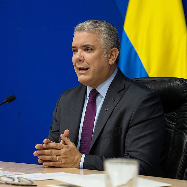 Hora América - Visita del presidente de Colombia, Iván Duque