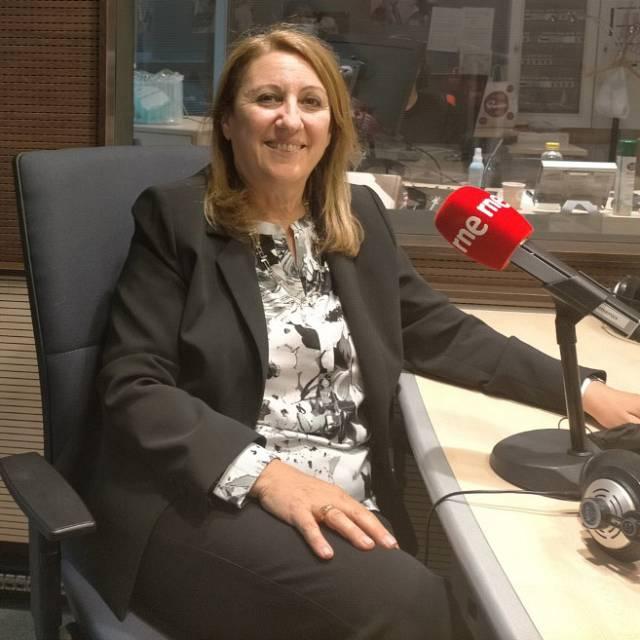 Mónica Fein, presidenta del Partido Socialista de Argentina