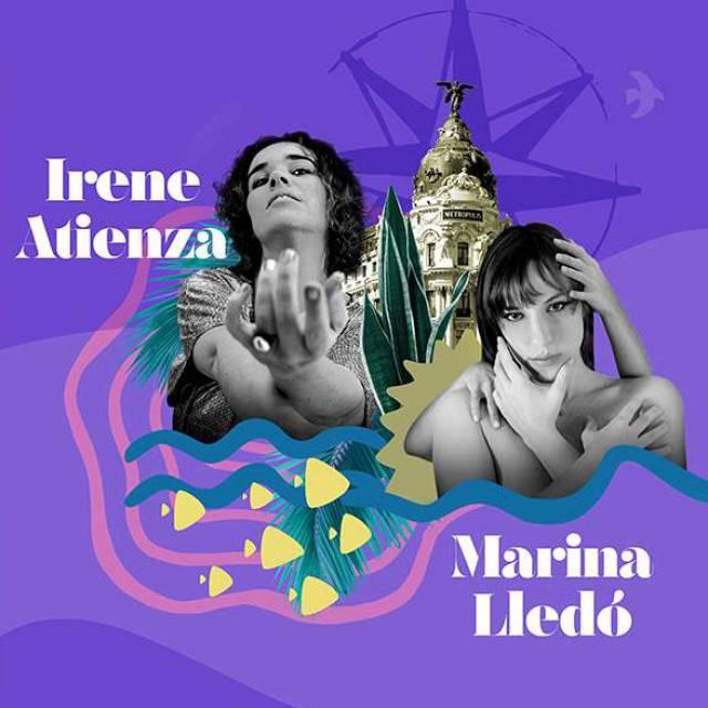 Concierto Irene Atienza + Marina Lledó en Corral Cervantes