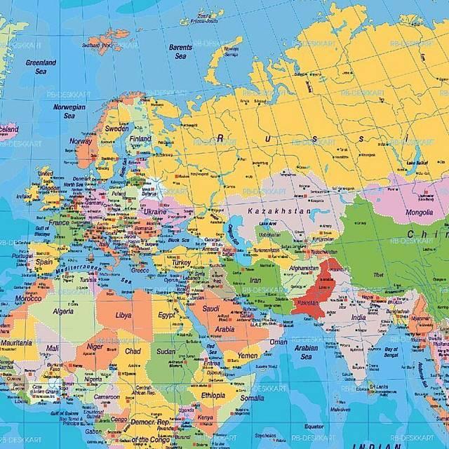 """El origen de los países acabados en """"-stan"""""""